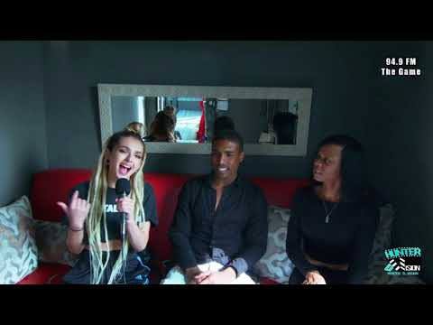 Zhavia star of The Four and Marcus Miles interview with 94.9FM