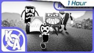 "[1 Hour] ""Escape the Nightmare"" Bendy Nightmare Run Song (ft. Swiblet)"