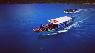 Flycam cảnh biển Việt Nam quá đẹp.