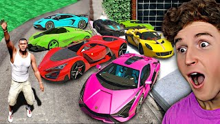 Collecting Rare BILLIONAIRE SUPER CARS In GTA 5.. (Mods)