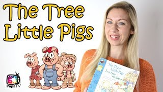 Three Little Pigs Book Storytime | Bedtime Stories | Audiobook for Kids & Babies | Toddler Reading