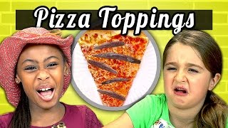 KIDS vs. FOOD #5 - PIZZA TOPPINGS