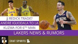 Los Angeles Lakers Rumors: Potential JJ Redick Trade, Andre Iguodala Tracker & Kyle Kuzma Returns