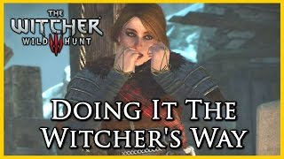 Witcher 3: Killing the Hym using the Witcher's Way, Refuse to Throw the Baby in the Oven