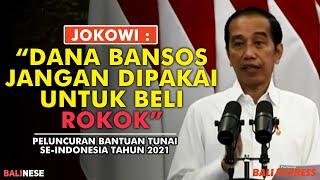 Peluncuran Bantuan Tunai Se-Indonesia Tahun 2021