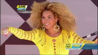 Beyoncé live At Good Morning America TV Show - Summer Concert  2011 - Full Performance -