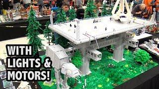 Huge LEGO Endor Base from Star Wars: Return of the Jedi