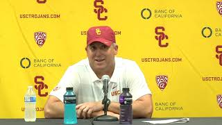 USC Football Post Game Presser - WSU