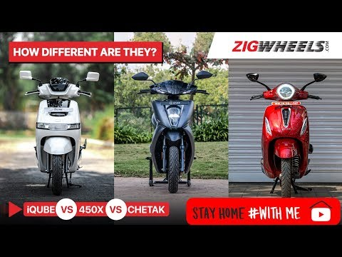 #StayHome & Pick Your Next Electric Scooter #WithMe 450X vs Chetak vs iQube