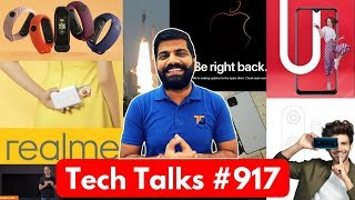 Tech Talks #917 - Realme 5G Phone, Vivo U10, Mi Band 4 India, MiTV 65Inch, ISRO Fake Account, E6s