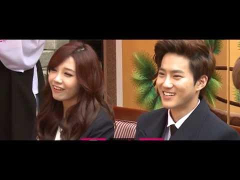 [COMPILATION] Suho & Eunji Moments