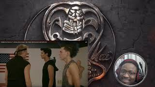 "Cobra Kai season 2 - ""Johnny Yells at Hawk"" Clip REACTION!"