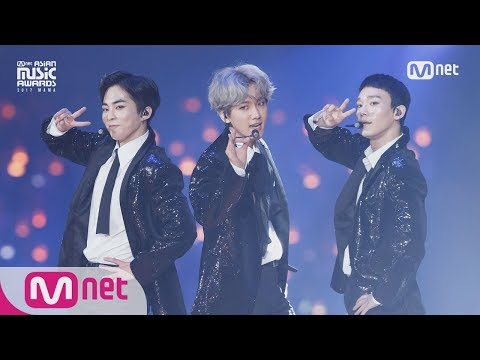 [2017 MAMA in Japan] EXO-CBX_Bridge Perf. + Ka-CHING! Remix ver.