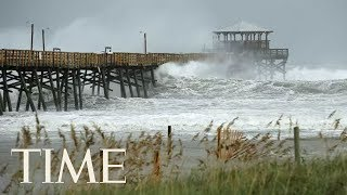 Footage From North and South Carolina As Hurricane Florence Makes Landfall | TIME