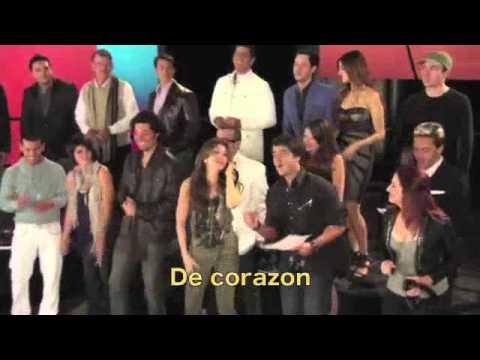 Somos El Mundo - We are the world - Con letra - With Spanish Lyrics (Versión Corta - Short Version)