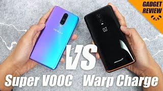 Who's FASTER? Super VOOC or Warp Charge 30?