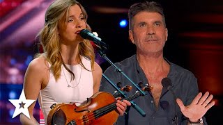 Her Voice STOPPED Simon Cowell From Pressing The RED BUZZER! | Got Talent Global