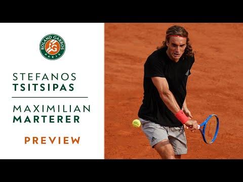 Stefanos Tsitsipas vs Maximilian Marterer - Round 1 Preview | Roland-Garros 2019