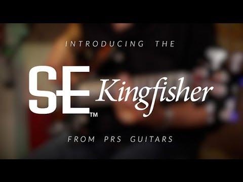The PRS SE Kingfisher Bass