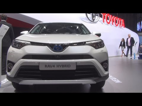 Toyota RAV4 HSD (2016) Exterior and Interior in 3D