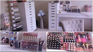 Makeup Collection & Storage  2015 | Jackie Aina