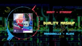 Grant - Starship VS Marshmello - Alone ~ [Duality Mashup]