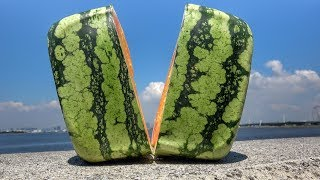 What's inside a Square Watermelon?