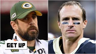 Aaron Rodgers responds to Drew Brees' comments on social media | Get Up