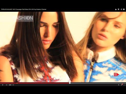 """BYBLOS MILANO"" ADV Campaign Fall Winter 2014 2015 by Fashion Channel"