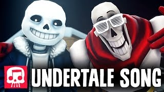 "Sans and Papyrus Song - An Undertale Rap by JT Music ""To The Bone"" [SFM]"