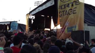 Bring Me The Horizon - Shadow Moses live @ Vans Warped Tour 2013 Pomona Fairplex 6-20-13