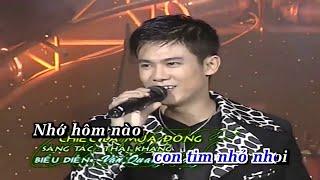 KaraOke Chiếc Lá Mùa Đông -  Vân Quang Long Full Beat