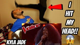 "The Voice 2018 Kyla Jade - Top 12: ""One Night Only"" (REACTION)"