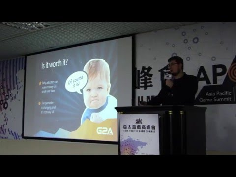 Lukasz Hacura (Anshar Studios) - Asia Pacific Game Summit 2016