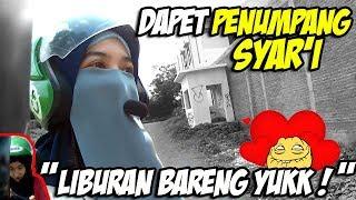 Gojek Vlog Episode 019 | Dapet Penumpang Syar'i -Assalamu'alaikum Ukhti-