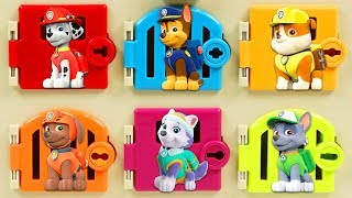Paw Patrol Pups Gets Trapped By PJ Masks Romeo with Surprise Toys!