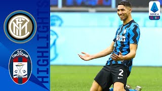 Inter 6-2 Crotone | Lautaro Martínez Scores Hat-trick As Inter Hit 6! | Serie A TIM