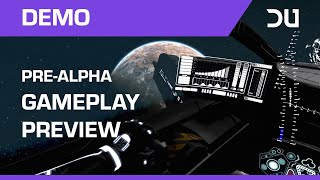 Dual Universe - 10 perc pre-alfa játékmenet
