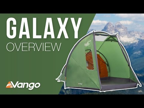 Vango Galaxy 300 - Pamir Green - 3 Person Tent
