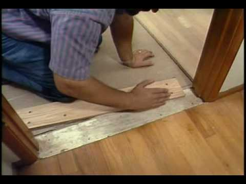 Pulling The Walls Stairs And Doorways Quot Laying Hardwood