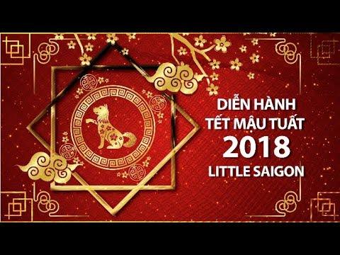 Diễn Hành Tết Mậu Tuất 2018 tại Little Saigon