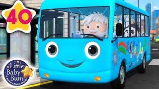 Wheels on The Bus Original | Bus Song for Kids + More Nursery Rhymes & Kids Songs | Little Baby Bum