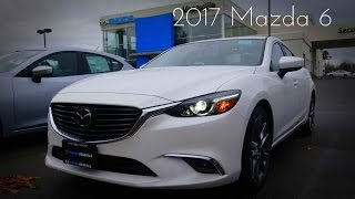 2017 Mazda 6 Grand Touring 2.5 L 4-Cylinder Review