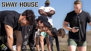 DESTROYING Josh Richards and the Sway House at My Military Obstacle Course