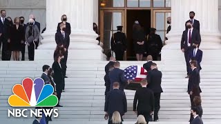 Watch: Thousands Gather To Mourn Supreme Court Justice Ruth Bader Ginsburg | NBC News NOW