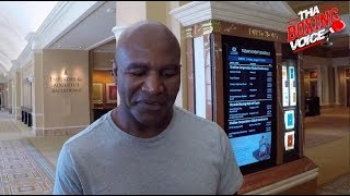 EVANDER HOLYFIELD Reacts to WILDER🇺🇸FURY🇬🇧 Confrontation in BELFAST 👀