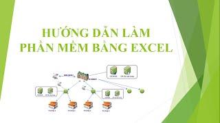 Hướng dẫn làm phần mềm quản lý bằng excel
