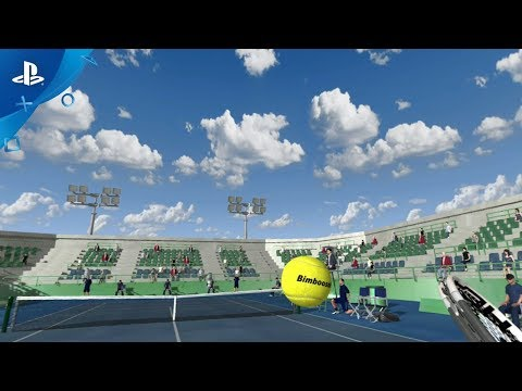 Dream Match Tennis VR Video Screenshot 1
