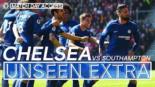 Super Sub Giroud Leads The Fightback Vs Southampton | Unseen Extra