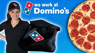 We become DOMINOS PIZZA  Delivery Drivers 🍕for 1 Day